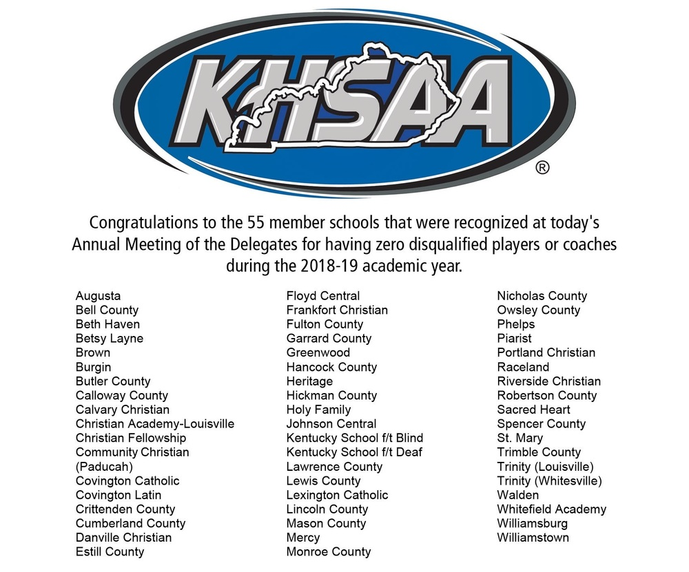 Congratulations Athletes & Coaches!